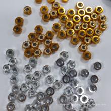 Alibaba colorido Alumínio Lock Nut com alta qualidade