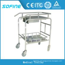 SF-HJ1020 Edelstahl Krankenhaus medizinische Ausrüstung Warenkorb
