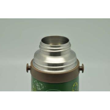 Haute qualité 304 en acier inoxydable flacon à vide double paroi ballon à vide Svf-1000e vert