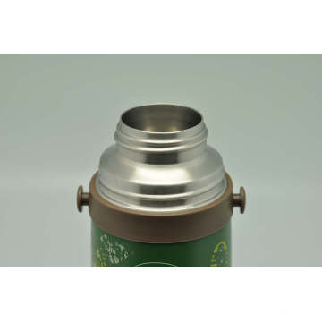High Quality 304 Stainless Steel Vacuum Flask Double Wall Vacuum Flask Svf-1000e Green