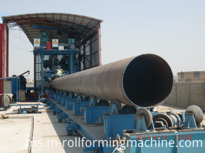spiral Erw tube pipe making machine