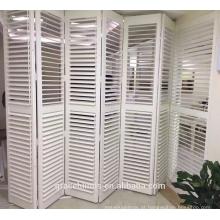 L quadro Basswood plantação persianas para sala de estar