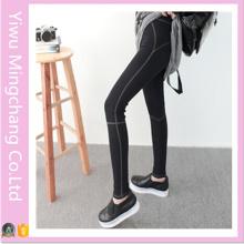 2016 Latest Design Cotton High Elestic Girl′s Sport Yoga Pants