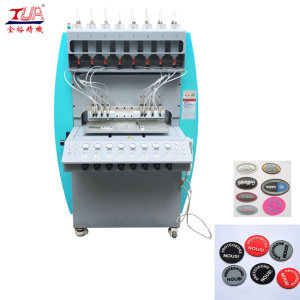 automatische pvc label dispenser machine