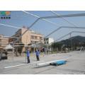 Kirche gebogene Festzelt 15m x20m mit transparentem Fenster für 600 Personen