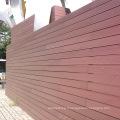 Panneau mural extérieur en bois composite Qingdao Wpc