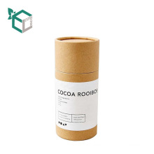 Kraft Core Round Cardboard Tubes Blusher Paper Container