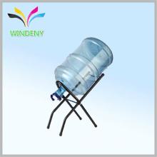 Alimentation en usine 5 gallons bouteille d'eau bouteille porte-bagages métallique portable