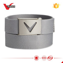 HOT design Solid webbed golf belt