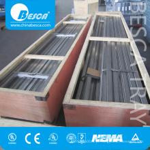 Aço inoxidável SS316 C Strut Channel em pacote de caixa de madeira (UL China fabricante)