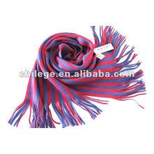 gestrickter Schal gestreifter Schal