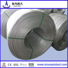 Китай Поставщик CCA алюминиевой проволоки стержня 12 мм