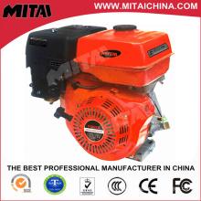 Mini motor de gasolina de 2 cilindros con arranque eléctrico / retroceso