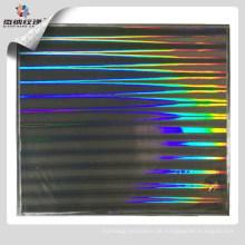 Hologramm Pillar Shim zum Prägen von PET / BOPP Laminat oder Transferfolie, 100% Nickel