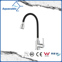 Popular Lead Free Brass Single Handle Kitchen Faucet (AF2404-5C)