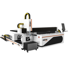 Buy Metal Tube Laser Cutting Machine Plate Stainless Steel Carbon Steel Copper Laser Cutting CNC Machine With Rotary Device