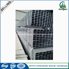 Building Material Welded Square Steel Pipe Galvanized