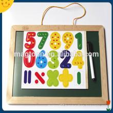 Custom double side kids magnetic board