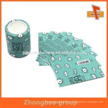 Etiqueta de cuerpo de botella plástica imprimible del quanlity alto para los productos del polvo
