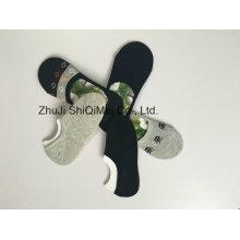 Anti-derrapante meias invisíveis feminino masculino