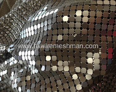 Aluminum Metallic Fabric Cloth
