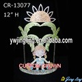 """12 """" custom summer holiday palm tree and girls crowns"""