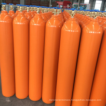99.999% oxygen/N2O gas filled in 40L high pressure cylinder with QF-2 valve