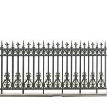 Flame Flower Aluminum Fence