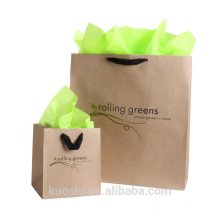 customized paper gift bag supplier