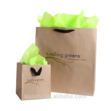 подгонянный бумажный мешок подарка поставщиков