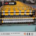 Machine de formage de rouleaux à double couche en acier à couleur hydraulique en acier
