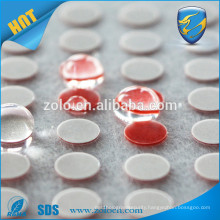 High quality custom irreversible water indicator sensitive sticker change colour