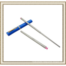 Press Type Stainless Steel Folding Chopsticks (CL1Y-CS201)