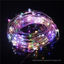 Multi color 5V USB LED String Copper Wire String Lights for Valentine's Day