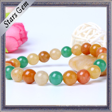 Colorful Natural Stone Beads Bracelet Fashion Jewelry