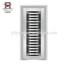 Puerta residencial profesional de acero inoxidable precio diseño puerta acero inoxidable