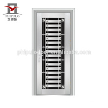 Professional residential stainless steel door design price stainless steel door