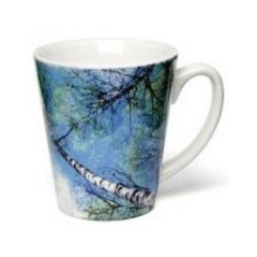 Dye Sublimation Latte Mug. 12oz Sublimation Mug