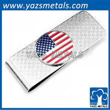 US flag Metal Money Clips for Men