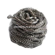 Démaquillant de nettoyage en acier inoxydable JML 410, éponge à pot