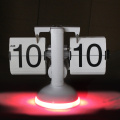 Horloge de table éclairée Flip Clock Font Custom Made