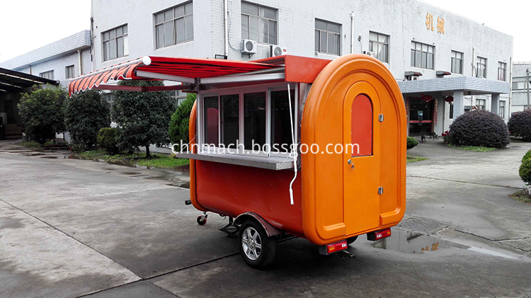 street food trailer