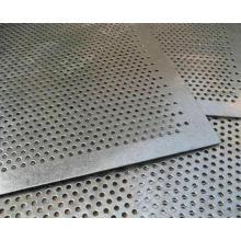 Malla de metal perforada pesada con agujero redondo hecho en China