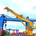 Heila 1.5T36.6M Telescopic Jib Deck Port Crane