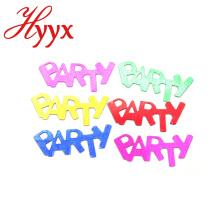 HYYX Personalizado Estilo personalizado papel de seda biodegradável confetes coloridos