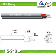 Электрический фотоэлектрический кабель, одобренный TUV