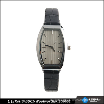 Classic watch for lady date black fashion watches 2017 stainless steel back