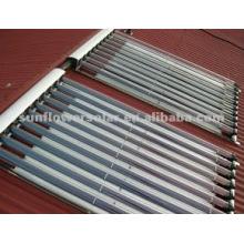 Split pressurized heat pipe portable solar water heater with SOLAR KEYMARK & SRCC