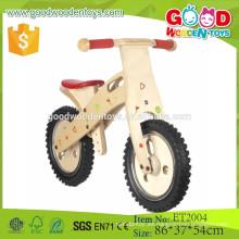 2015 alta calidad 12 '' bicicleta de equilibrio de madera de neumático de eva para niños