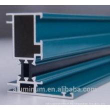 Perfil de aluminio de ventanas y puertas